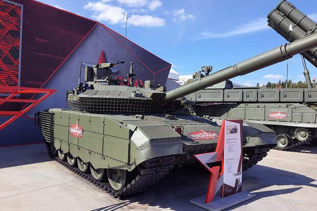 """Танк Т-90М стал одним из главных экспонатов """"Армии-2020"""""""