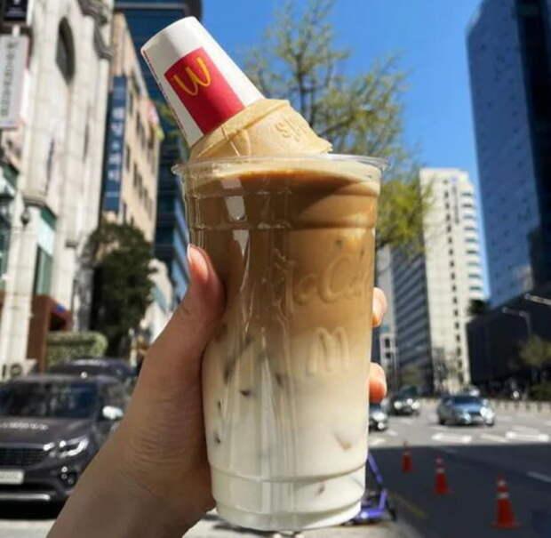 Этот лайфхак из тиктока превратит кофе из Макдоналдса в супервкусный напиток