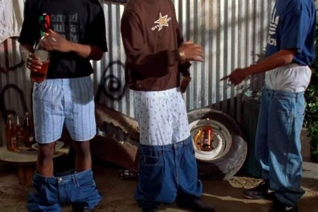 Сэггинг: зачем афроамериканцам спущенные штаны?