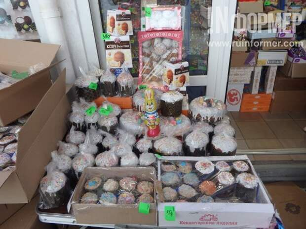 Сколько стоит кулич в Севастополе?