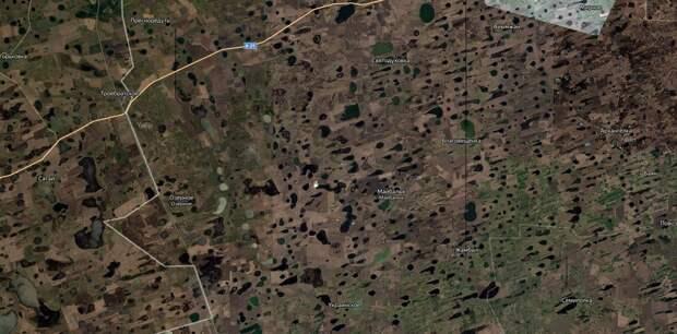 Загадки спутниковых карт. Кто бомбил Землю?