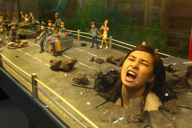 Необычный музей предлагает гостям стать частью потрясающих 3D картин и получить невероятные эмоции