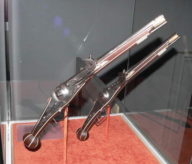 Пистолеты с колесцовым замком - Скрежет стали, стук копыт | Warspot.ru