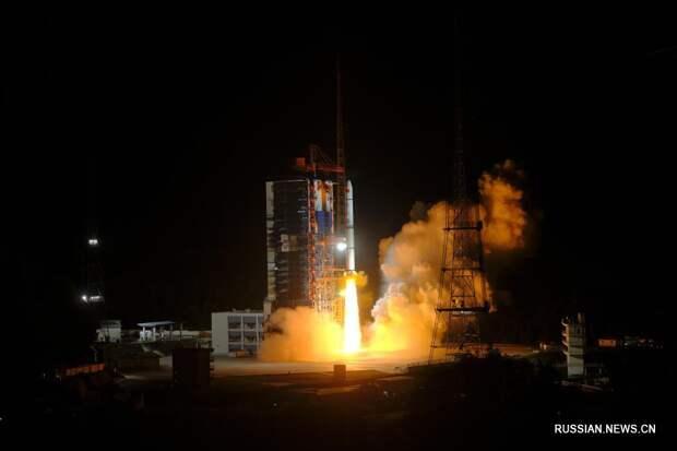 Китай вывел на орбиту группу новых спутников дистанционного зондирования