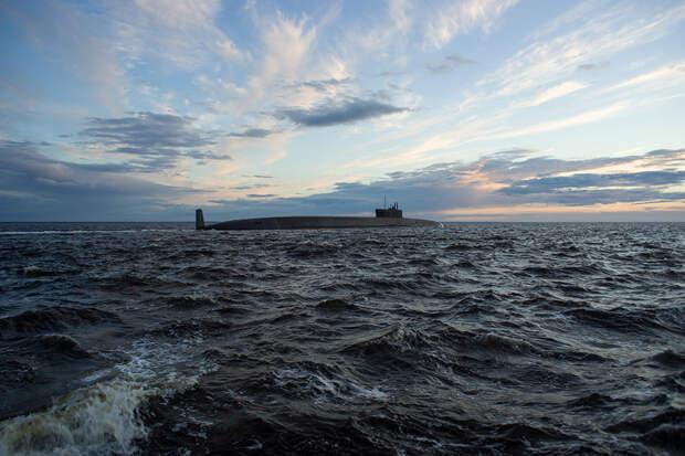 Российская подлодка возглавила рейтинг самых длинных субмарин в мире