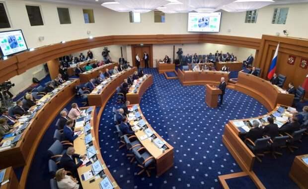 Мосгордума принимает бюджет столицы сдефицитом в510 миллиардов рублей