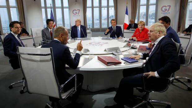 Главы МИД стран G7 потратили полтора часа на обсуждение России