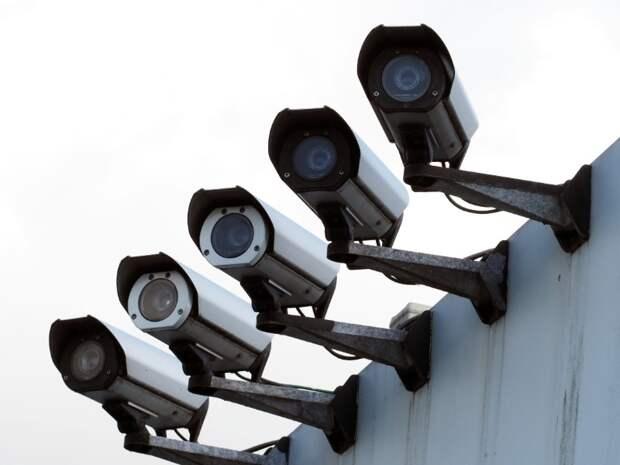Россия вышла на третье место в мире по числу камер видеонаблюдения