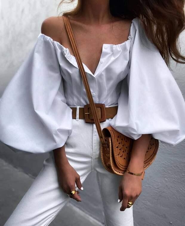 Королева лета: 25 идеальных модных летних образов в белом цвете