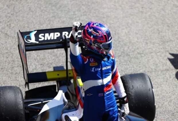 Александр Смоляр прокомментировал победу в первой гонке Формулы 3