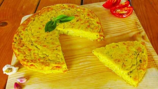 Запеканка из молодых кабачков с сыром
