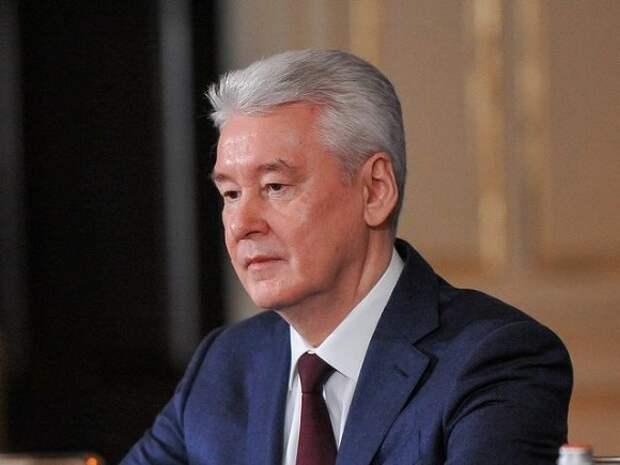 Собянин: Ситуацию с коронавирусом в Москве нельзя назвать критической, но заболеваемость растет