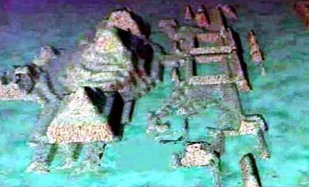 На глубине 750 метров у берегов Кубы нашли структуры, похожие на город. Возраст оценивают в 50000 лет