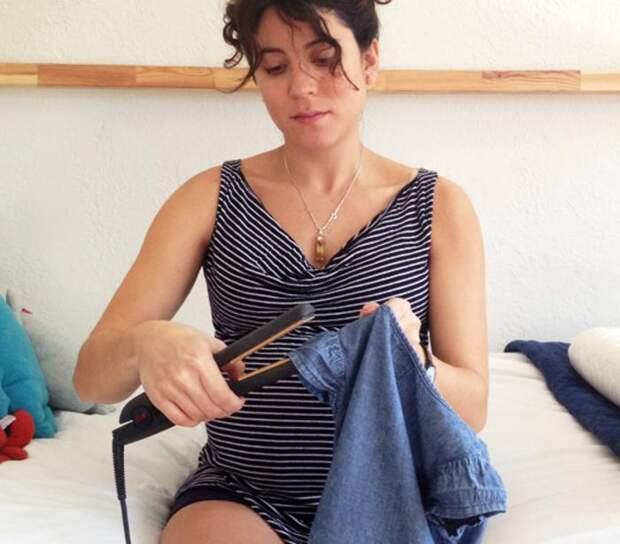 Утюжок для волос поможет аккуратно разгладить манжеты, воротнички и рукава. /Фото: atmedia.imgix.net