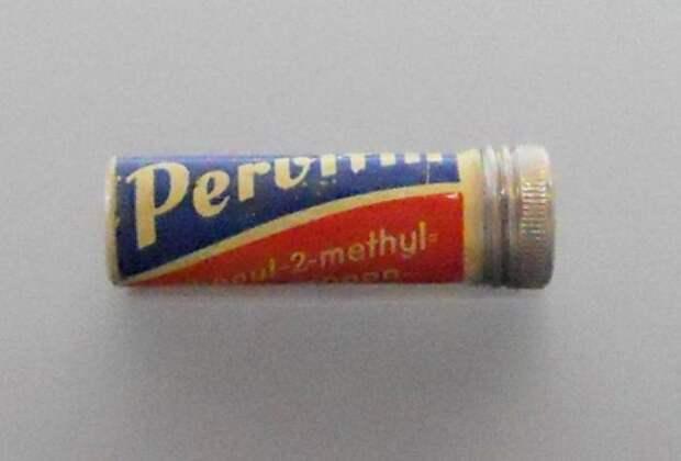 Упаковка лекарства Первитин. /Фото: lenta.ru