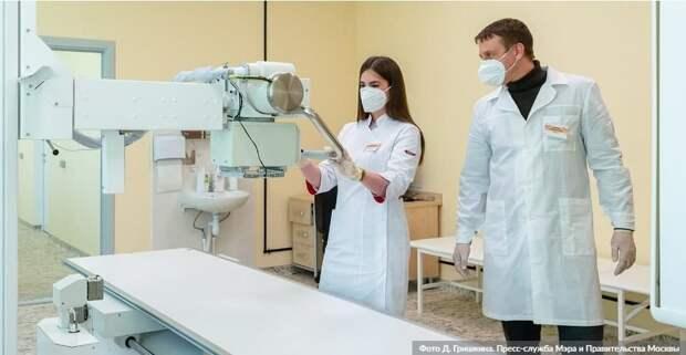 Искусственный интеллект в Москве будет обрабатывать исследования по 10 направлениям. Фото: Д.Гришкин, mos.ru