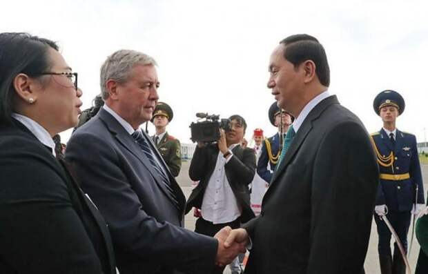 Президент Вьетнама и история вьетнамского государства, которому удалось воссоединиться