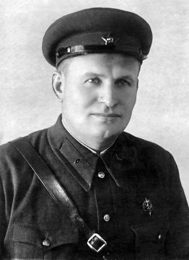 Начальник УШПД Тимофей Амвросиевич Строкач