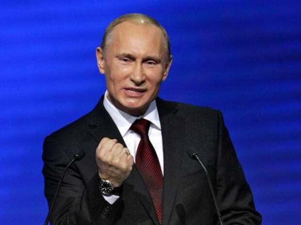 Путин уделал мировую элиту