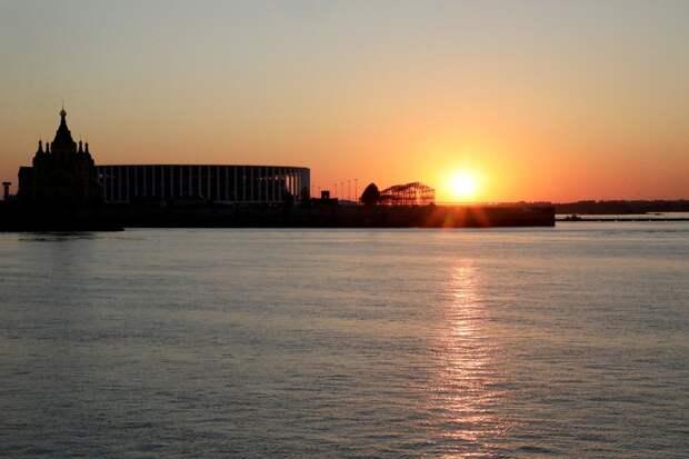 National Geographic составил ТОП-17 мест, с которых лучше всего наблюдать за закатами в Нижнем Новгороде