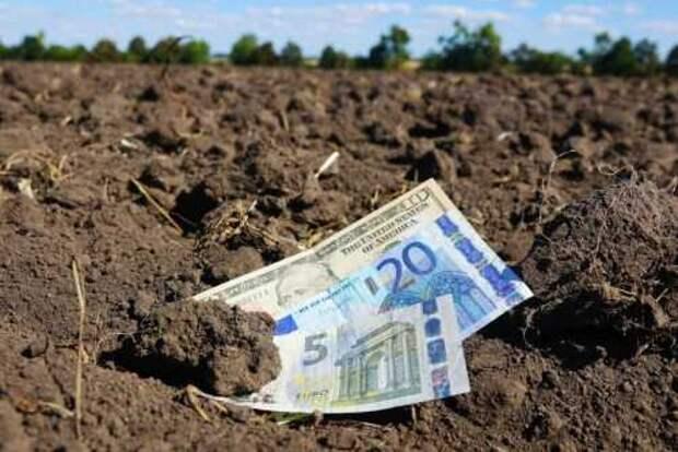 Протесты на Украине против продажи земли