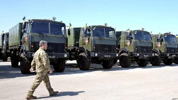 Украинская армия осталась без колёс