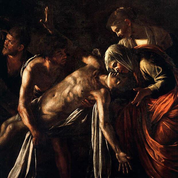 Караваджо - Воскрешение Лазаря
