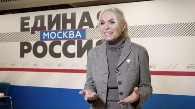 Депутат ГД Ирина Белых: «От сердца юных москвичей — дань памяти подвигу Ленинграда»