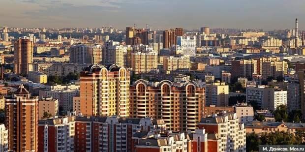 Москва вошла в тройку мегаполисов мира, наиболее привлекательных для жителей Фото: М. Денисов mos.ru