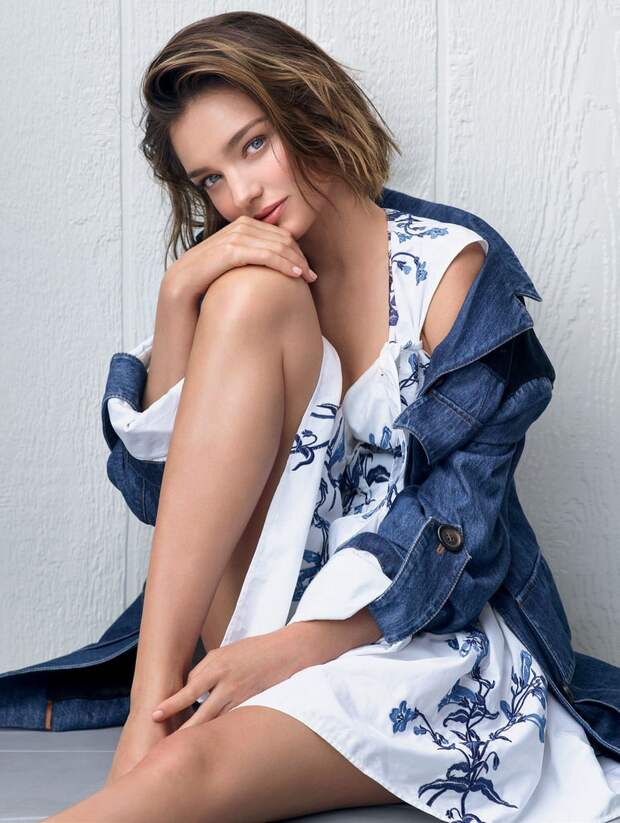 Миранда Керр — Фотосессия для «Elle» BR 2016