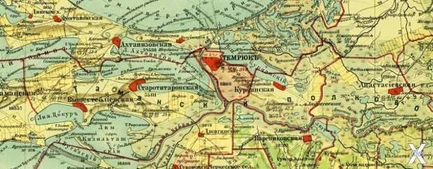 Карта 1902 года