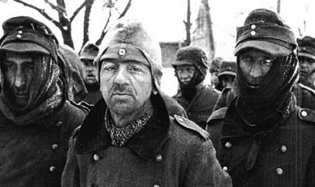 Немцы бежали так, что затаптывали своих раненых