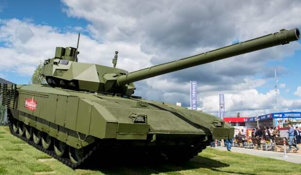 Российский танк «Армата» встроен в сетецентрическую систему управления боем