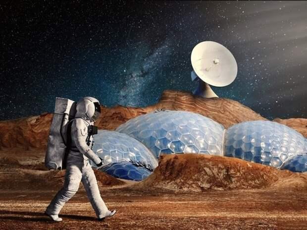Эксперты назвали способы утилизации мертвых тел при освоении Марса