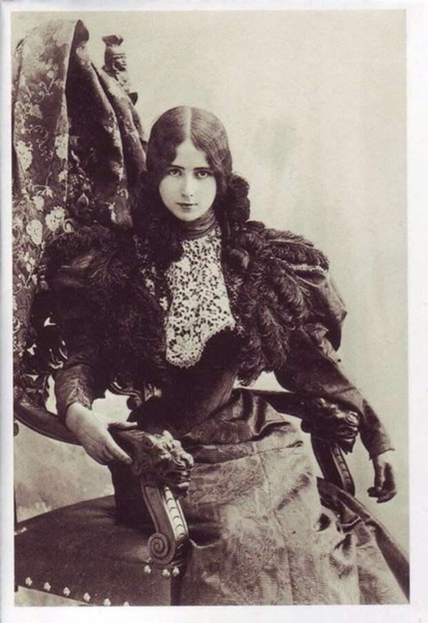Клео де Мерод, первая фотомодель в истори.
