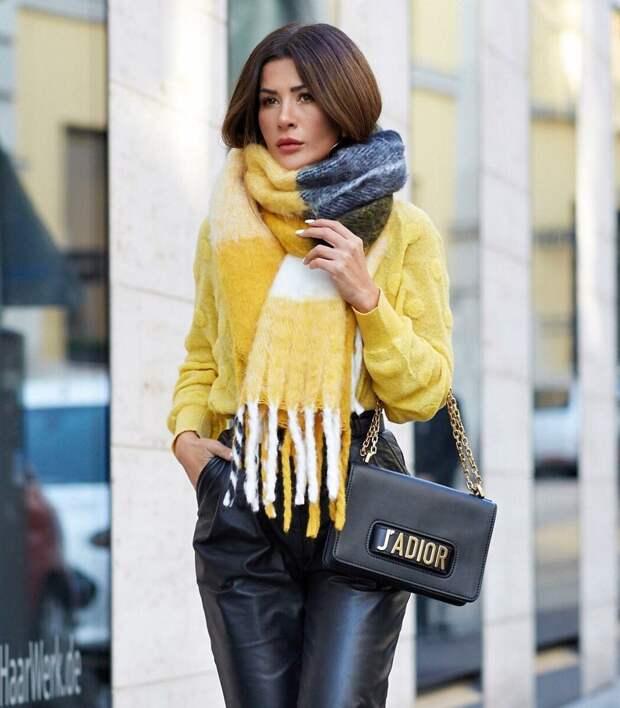 С чем носить желтый цвет: 20 теплых и солнечных сочетаний