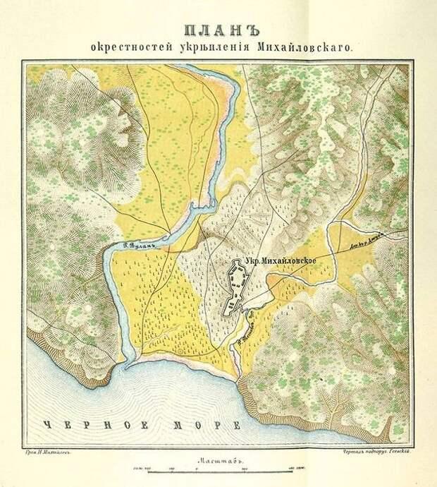 Михайловское укрепление. Место подвига Архипа Осипова. Часть 1