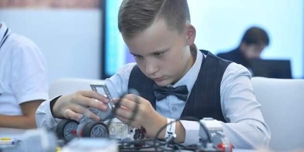 Наталья Сергунина: В Москве проведут соревнования по робототехнике DJI RoboMaster Youth. Фото: Ю. Иванко mos.ru