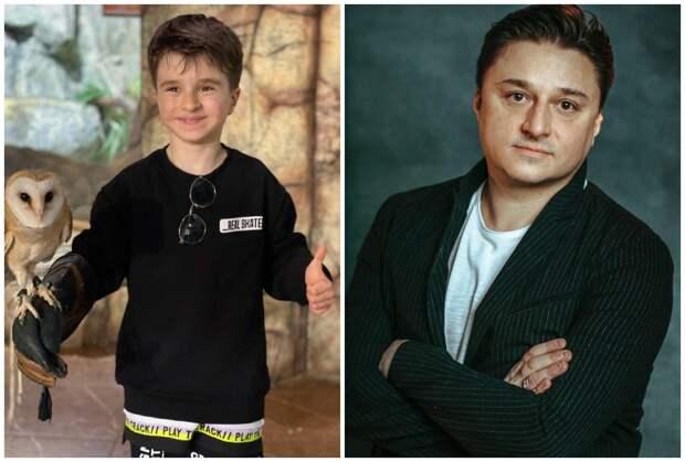Младший сын Максима Лагашкина как две капли воды похож на отца