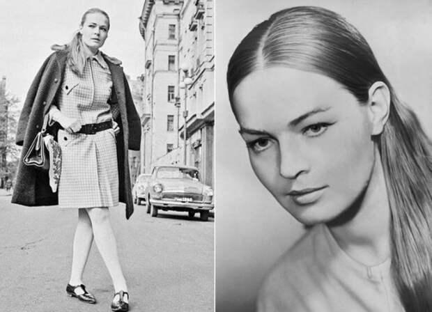 Одна из самых красивых актрис в СССР | Фото: liveinternet.ru и vokrug.tv