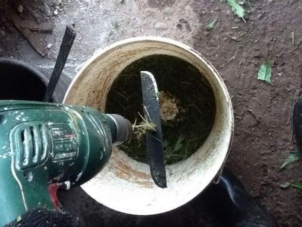 3 самоделки из шуруповерта для огородников и садоводов для помощи на участке
