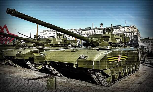 Все проблемы танка Т-14 «Армата» решены