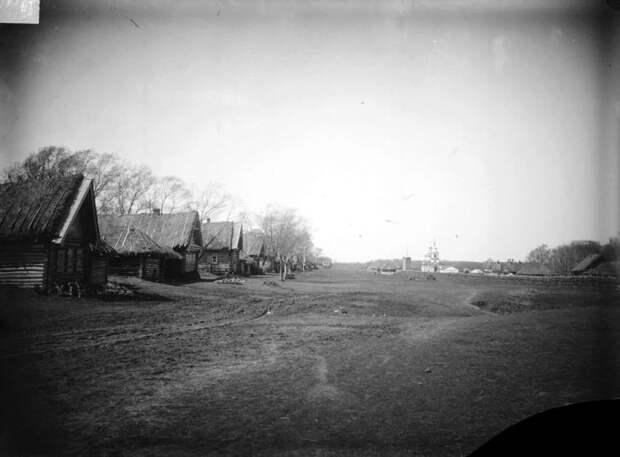 Село Мерлиновка. Нижегородская губерния, Лукояновский уезд, 1891-1892 год.