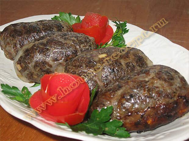 Мясное блюдо сальники