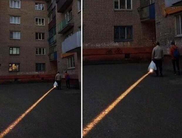 Даже не фотошоп: игра света и тени