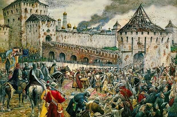Как поляки стали хозяевами в Москве