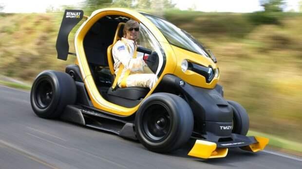 6. Renault Twizy сам не знал, спец авто, уникальное авто