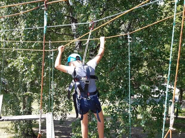 Реконструкцию веревочного парка на территории «Школы юных летчиков» проведут в Ижевске
