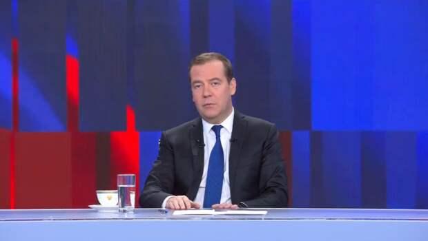 Дальнейшее решение по составу правительства будет принимать президент — Медведев