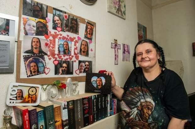 «Эрнест непугает меня»: британка влюбилась попереписке всерийного убийцу